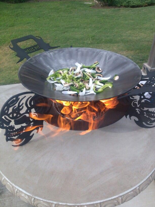 Permanent Dakota Fire Pit