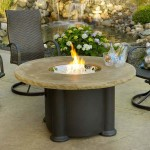 Propane Fire Pit Table and Chairs
