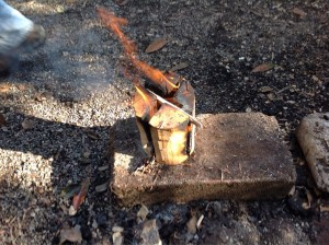 Ray Mears Swedish Fire Log