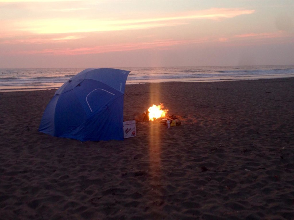 Southern California Beaches with Fire Pits