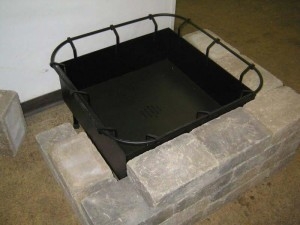 Square Fire Pit Insert