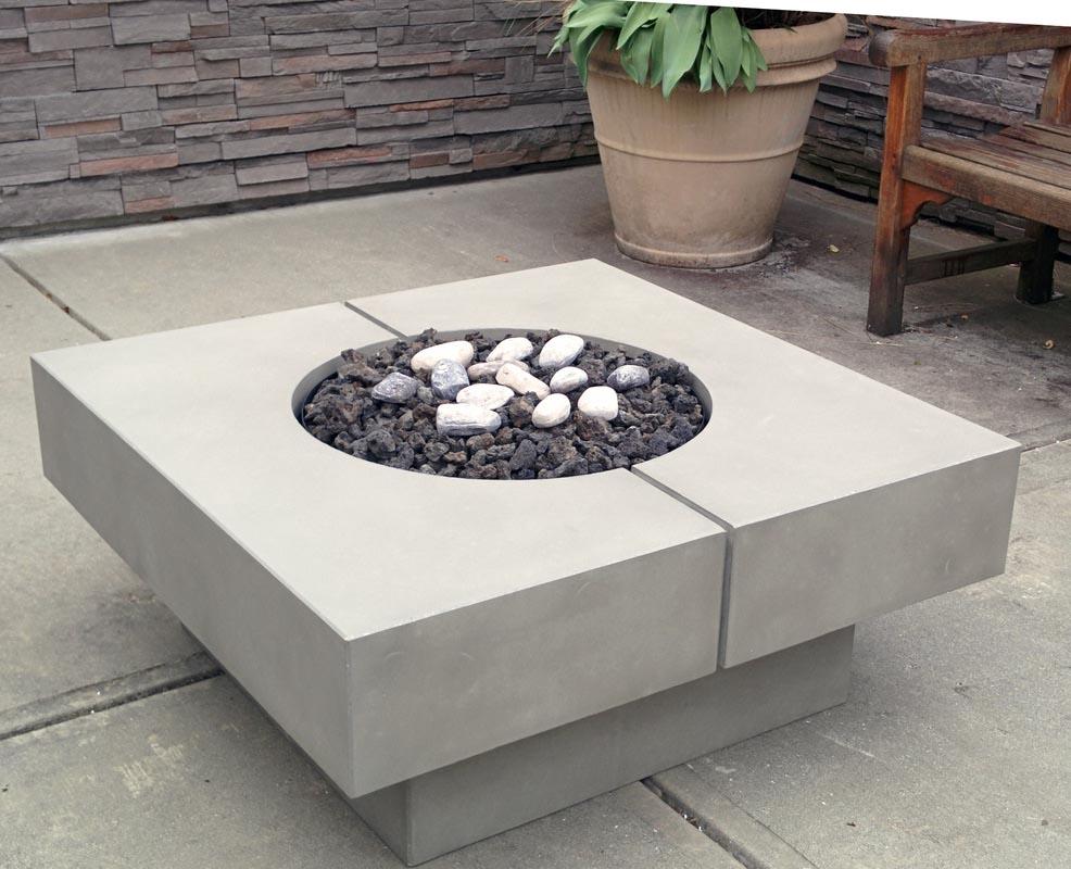 Square Fire Pit Pan