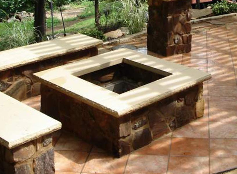 Square Fire Pit Plans