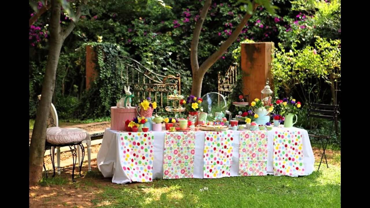Summer Bbq Party Decorations Fire Pit Design Ideas