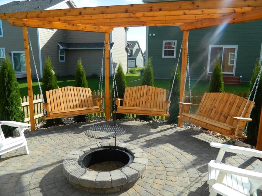 Swing Fire Pit Plans