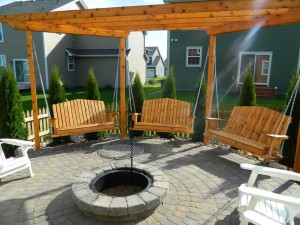 Swing Fire Pit Plans