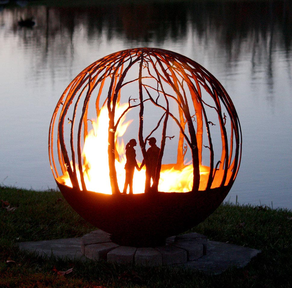 Unique Arts Fire Pit