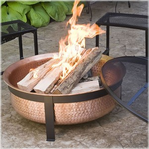Unique Arts Solid Copper Fire Pit