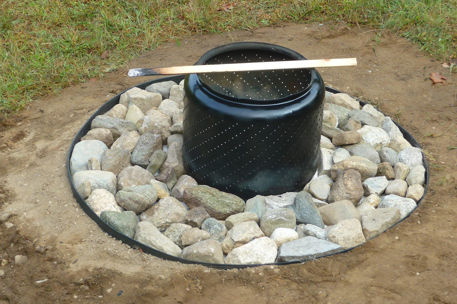 Washing Machine Barrel Fire Pit