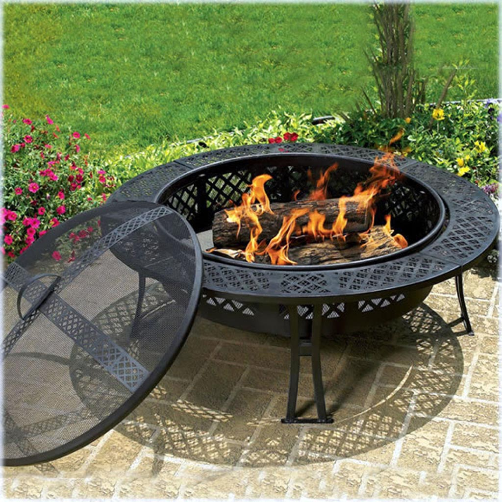 Western cowboy fire pit fire pit design ideas - Fire pits for your home ...