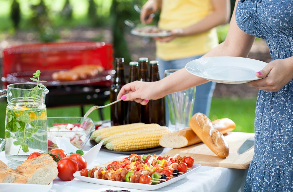 what to serve at a bbq birthday party fire pit design ideas