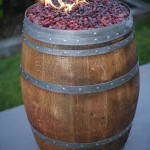 Wine Barrel Fire Pit Kit