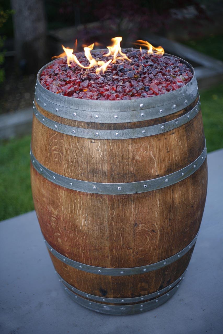 Wine Barrel Fire Pit Kit